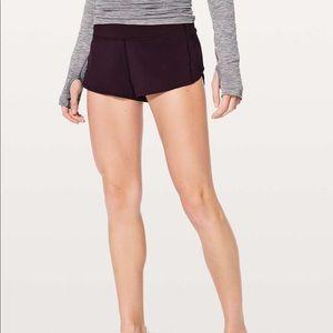 Lululemon Black 2.5 Inch Speed Up Shorts